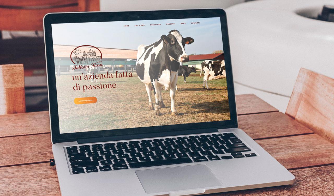 La shop on-line della Fattoria Rossi